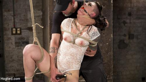 Rachael Madori - Slut Begs for Extreme Bondage and Grueling Torment to Make Her Cum (Hogtied) [HD 720p]