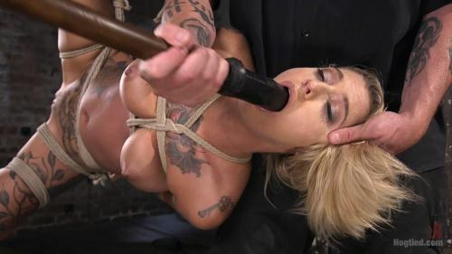 H0gT13d.com [Kleio Valentien - ALT Tattooed Pain Slut Submits in Grueling Bondage] HD, 720p
