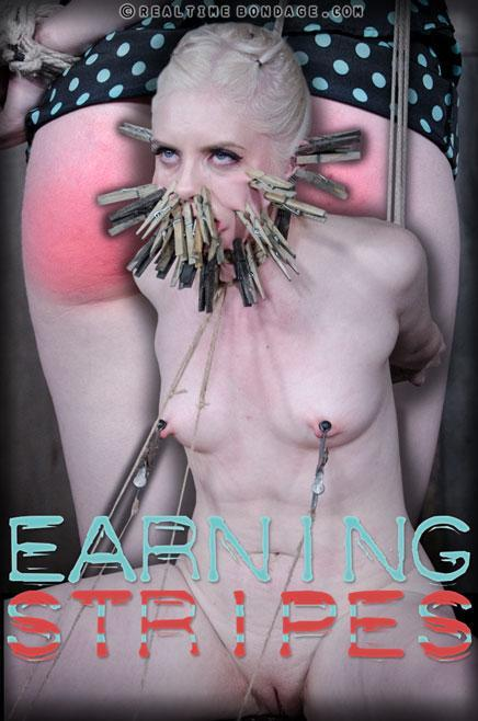 Earning Stripes Part 1 (RealTimeBondage) HD 720p