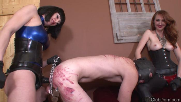 Female Domination - Jean & Kendra Strapon Fuck Guy (Femdom, Strapon) [FullHD, 1080p]