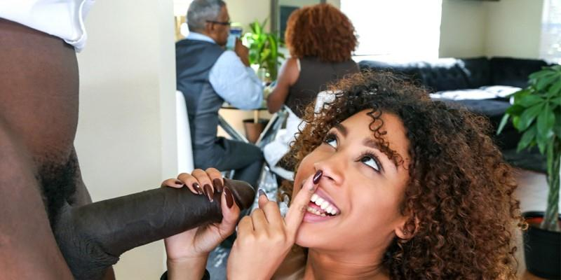 Dontfuckmydaughter.com: Kendall Woods - Squirting ebony daughters are the best kind of daughters to fuck [SD] (505 MB)