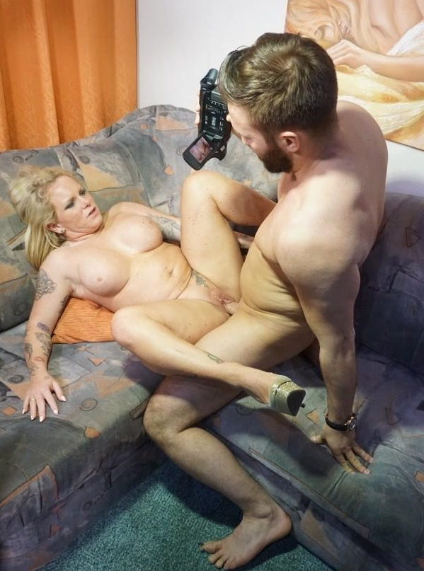 SexTapeGermany: Gina Valentina - A Busty Blonde German Babe With Curves Rides A Dick During Amateur Sex Tape  [SD 480p]  (Big Tit)