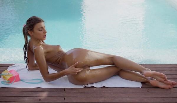 Allfinegirls.com - Melena Maria - Pool Time [FullHD 1080p]