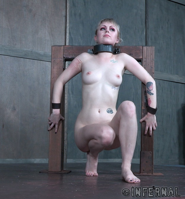 InfernalRestraints: Anna Tyler - Wedged  [HD 720p]  (BDSM)