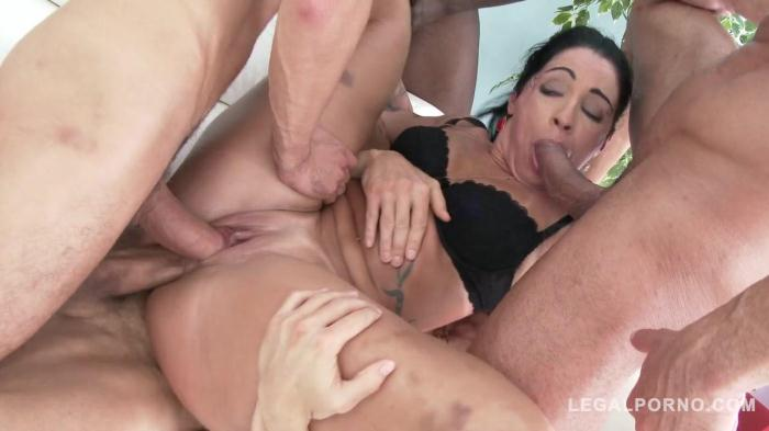 LegalPorno.com - Monica Santiago picked up in the street for rough anal fucking with DP & DVP (double pussy) SZ1477 (Mature, Group sex) [SD, 480p]