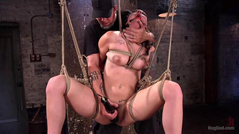 H0gT13d.com: Rachael Madori - Slut Begs for Extreme Bondage and Grueling Torment to Make Her Cum [HD] (1.31 GB)