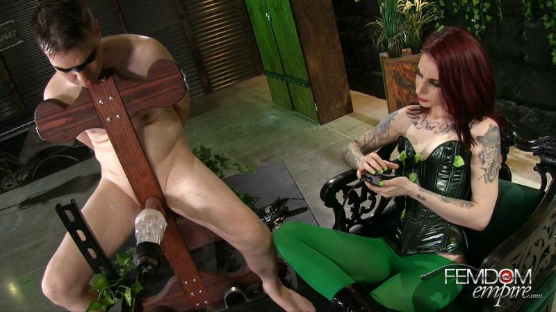 Forced Orgasms by Poison Ivy - Sheena Rose [FemdomEmpire / FullHD]