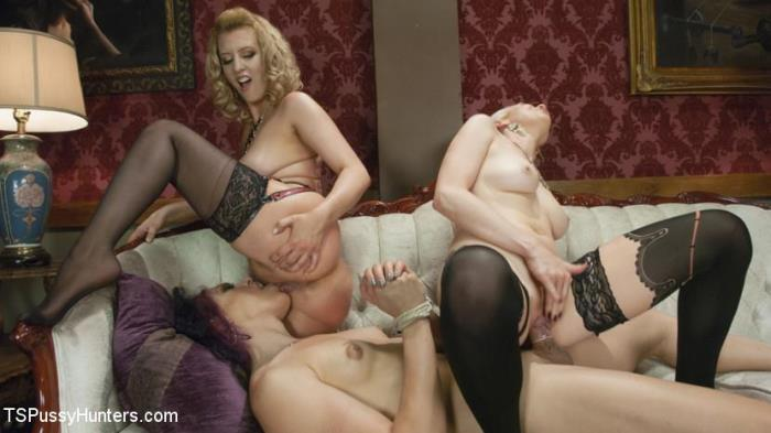 TSPussyHunters.com - Lorelei Lee, Kelli Lox, Cherry Torn - Kelli Lox is tricked, put in bondage then fucked in front of the world [HD 720p]