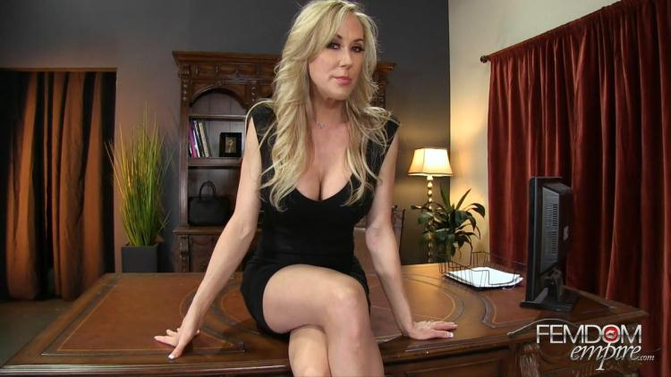 Lessons in Self-Control / Brandi Love / 17.10.2016 [FemdomEmpire / FullHD]