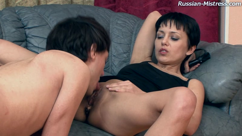 Nimfa aka Viola - StrapOn Fuck! (Russian Mature / 10 Oct 2016) [HD]