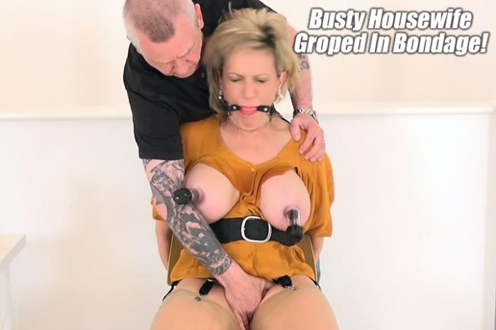 Lady-Sonia.com - Lady Sonia - Busty Housewife Chair Bondage For Nipple Treatment [FullHD 1080p]