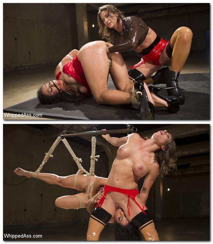 WhippedAss/Kink - Ariel X, Izamar Gutierrez [Losers Smackdown 2: Tough Slut Training] (SD 540p)
