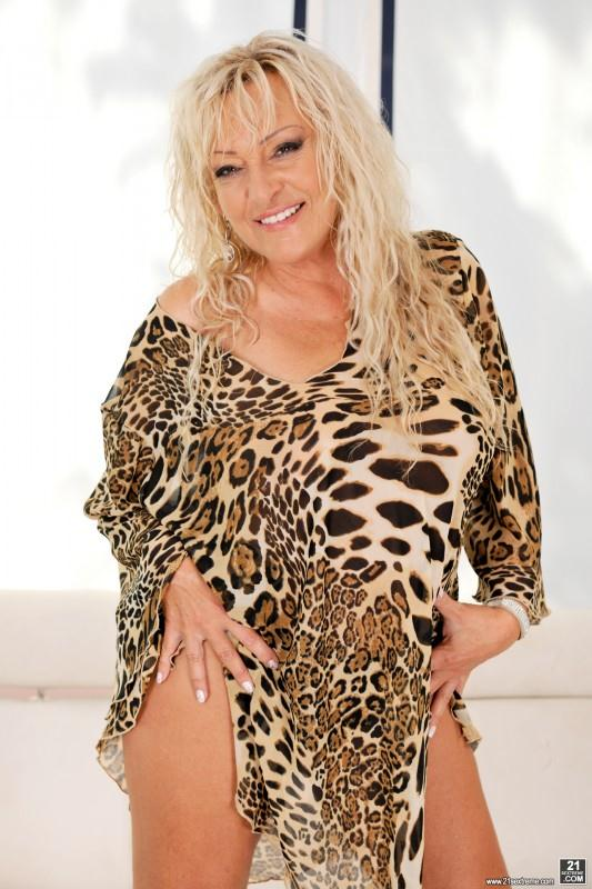 LustyGrandmas.com - Magdi, Carlos - Kinky Leopard (Granny, Big Tits) [SD, 544p]