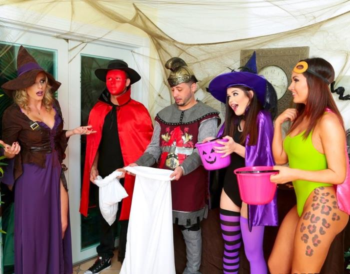 MomsBangTeens/RealityKings: Anastasia Rose, Cory Chase - Halloweeny  [SD 432p]  (Group)
