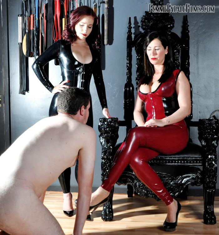 FemmeFataleFilms: Mistress Charlotte, Mistress Lola Ruin - Impertinence Punished  [HD 720p]  (Femdom)