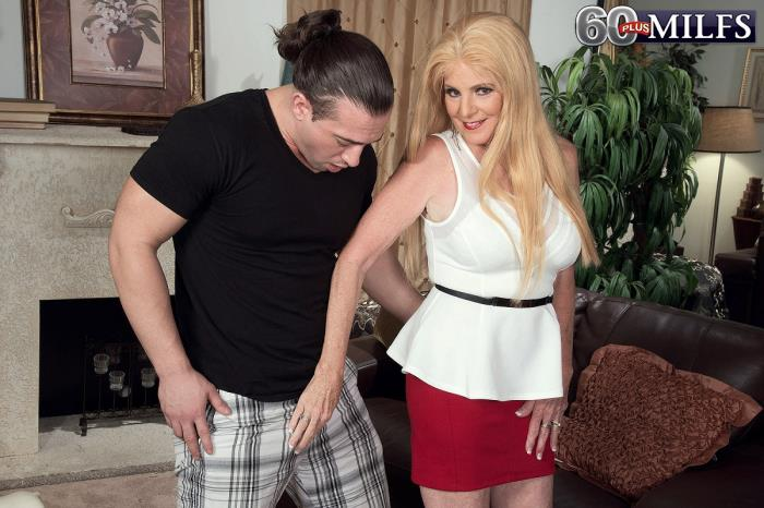 60PlusMilfs.com - Charlie - Young cock and a creampie [FullHD 1080p]