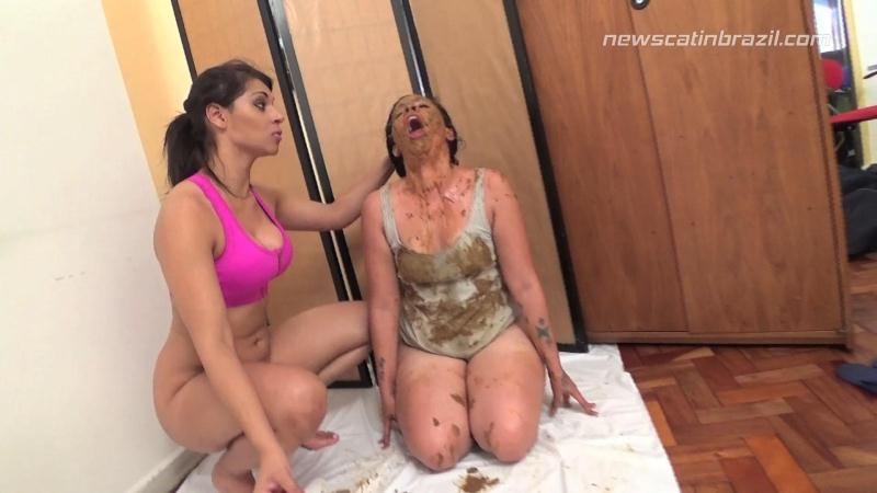The First Time of Mihelle (SCAT / 03 Oct 2016) [New Scat In Brazil / FullHD]