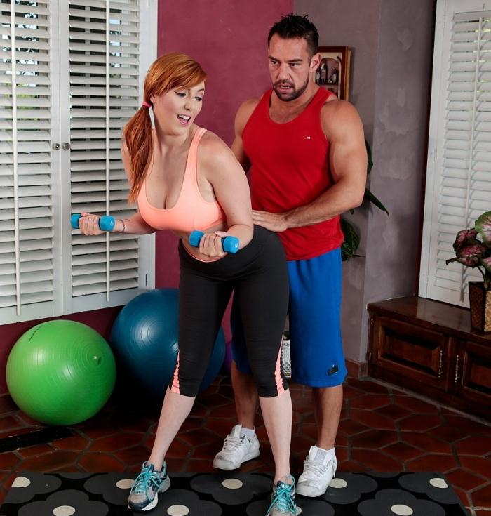 ShewillCheat: Lauren Phillips - Slutwife Lauren Phillips fucks her personal trainer  [FullHD 1080p]  (Big Tits)