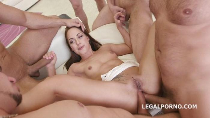 LegalPorno.com - Dap Destination Nomi Melone. DAP /GAPES /Ball Deep Anal, final DP. Easy Porn, easy Fun GIO268 (Group sex) [SD, 480p]