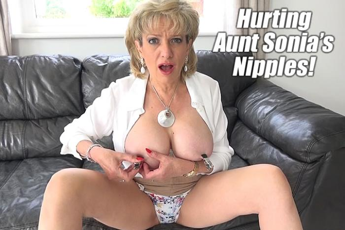 Lady-Sonia.com - Lady Sonia - Using His Aunt Sonia As A Fuck Toy [FullHD 1080p]