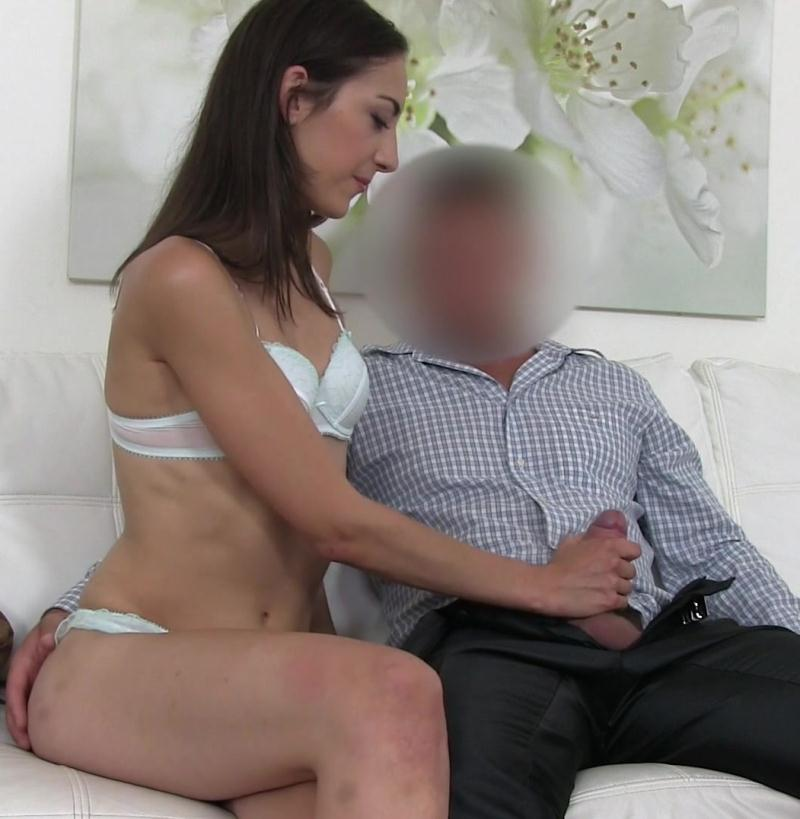 FakeAgent - Miky Love [Agent Gets Blowjob from New Model] (HD 720p)