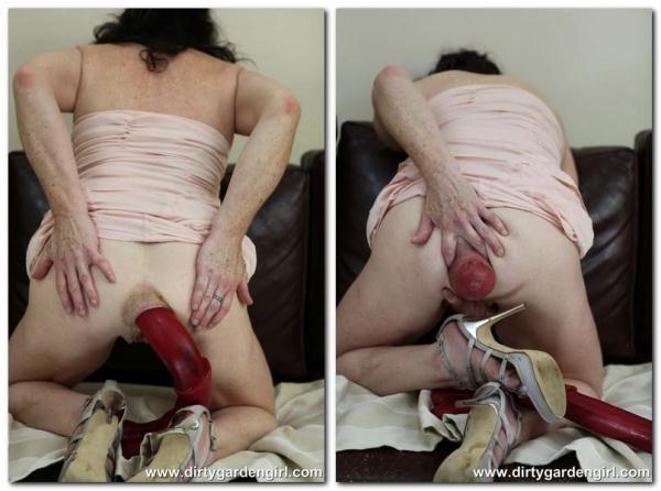 Mr.Edd cock and big prolapse - DirtyGardenGirl.com (FullHD, 1080p)