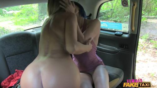 FemaleF4k3T4x1.com [Angel Long, Eva - Filthy Lesbian Taxi Cab Fun] SD, 480p