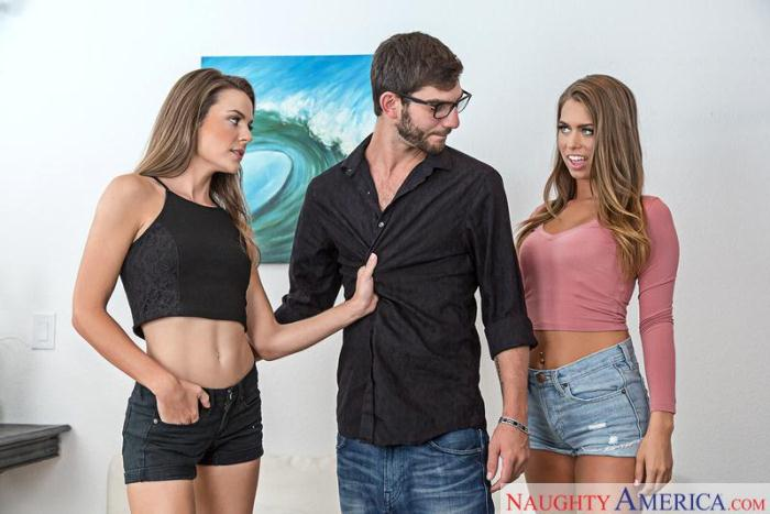 MyS1st3rsH0tFr13nd.com - Ally Tate, Jill Kassidy - Group sex (Threesome, Teen) [SD, 360p]