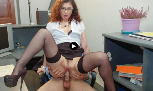[Julia Gomez Punishes Her Employee With Her Pussy and Ass] SD, 480p