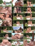 Kyra Hot, Aida Swinger - Sensual Sunshine Threesome - Busty Babes With Cum On Tits [SD]
