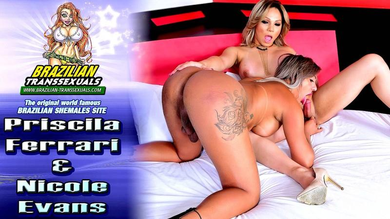Priscila Ferrari & Nicole Evans (20.10.2016) [Brazilian-Transsexuals / FullHD]