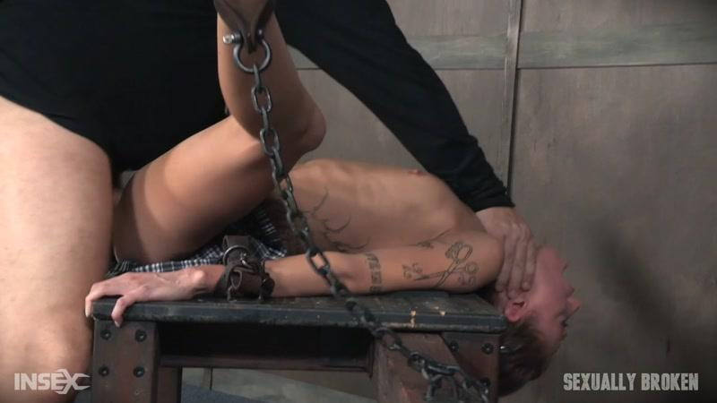 SexuallyBroken.com: Super Flexible Kassie Kay Bound With Legs Spread and Fucked Senseless! [HD] (671 MB)