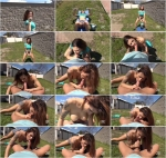 0nlyBl0wj0b.com: Billie Star - Salacious Outdoor Blowjob - Stunning Babe Sucks Cock In Garden [SD] (834 MB)