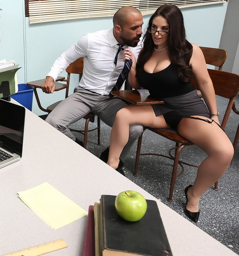 BigTitsAtSchool: Angela White - Parent Fucking Teacher Meetings!  [SD 480p] (248 MiB)