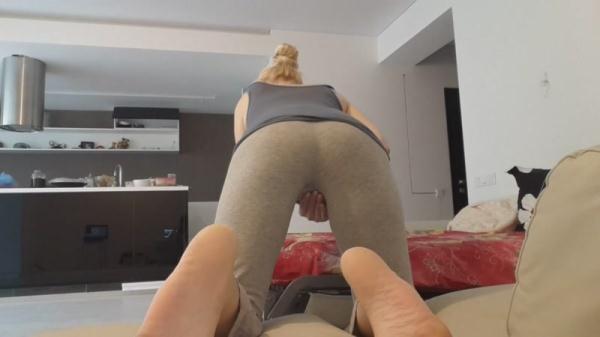 Scat Porn - Grey Tights Poop - Pooping [FullHD, 1080p]