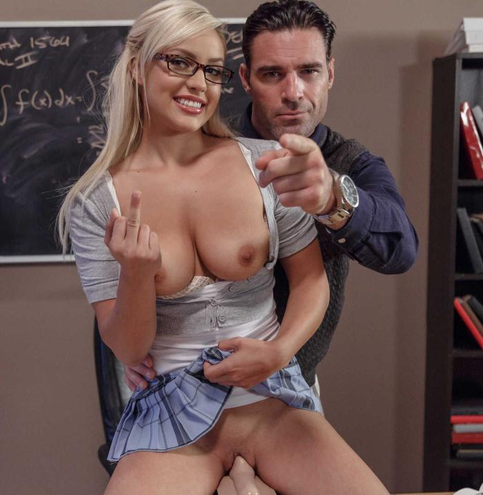 BigTitsAtSchool/BraZZers: Kylie Page - Math Can Be Stimulating  [HD 720p]  (Big Tits)