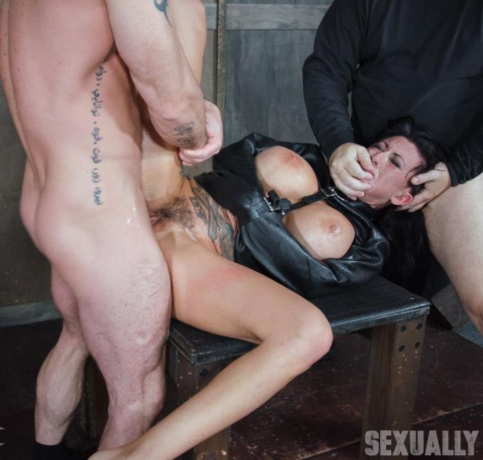SexuallyBroken: Lily Lane - Lily Lane is our new ALT big titted tan slut who can take a dick like a champ! Bondage and rough sex  [HD 720p]  (BDSM)