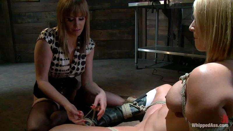 Wh1pp3d4ss.com: Maitresse Madeline and Mellanie Monroe [HD] (686 MB)