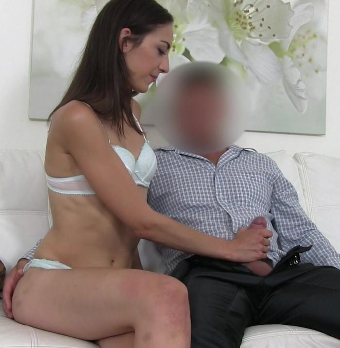 Miky Love - Agent Gets Blowjob from New Model  [HD 720p]