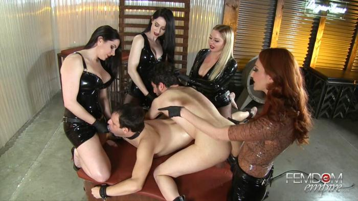 F3md0m3mp1r3: Strap-on Gang Bang 16 (FullHD/1080p/1.30 GB) 26.10.2016