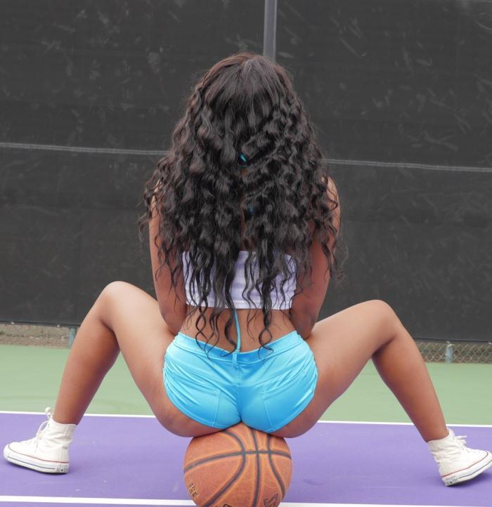 Exotic4k: Jenna Foxx - Busty B-Ball Babe  [HD 720p]  (Interracial)