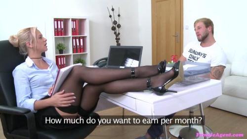 F3m4l34g3nt.com [Vinna Reed - Bodybuilder Fucks Agent to Orgasm] SD, 480p
