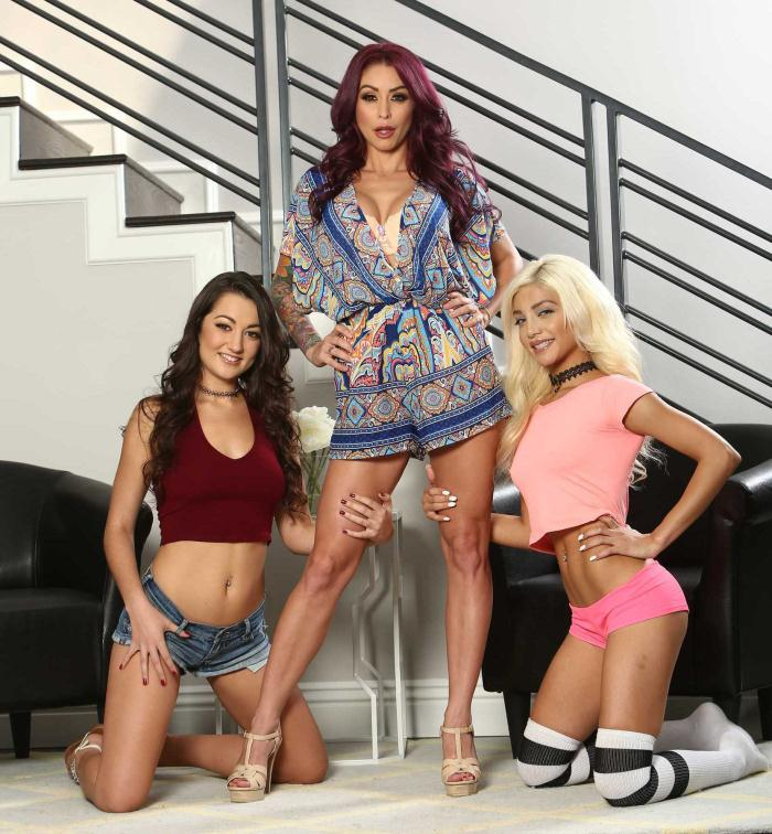HotAndMean/Brazzer: Monique Alexander, Elizabeth Jolie, Lily Adams - My Stepmom Is Better Than Yours  [HD 720p]  (Lesbians)