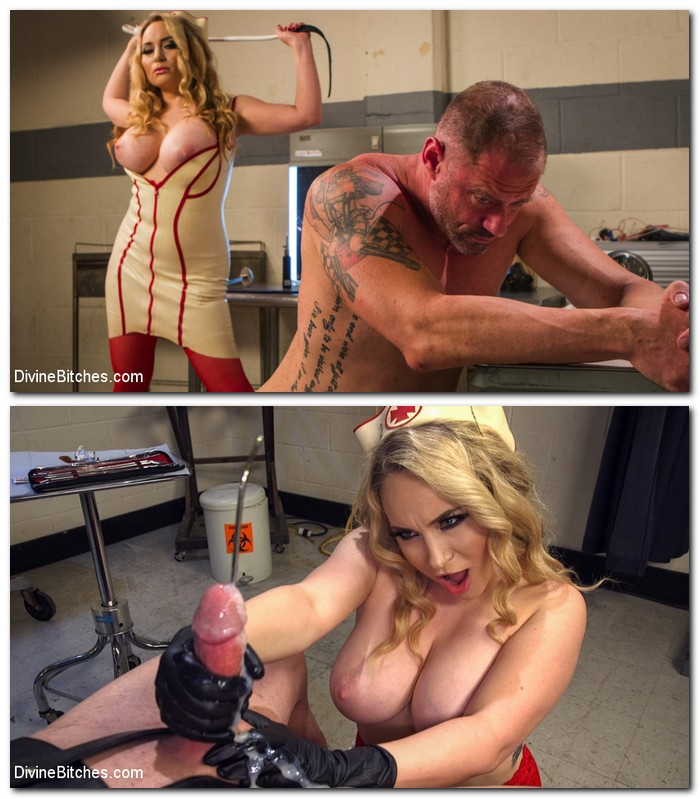 DivineBitches/Kink - Aiden Starr - Chronic Masturbator D. Seeks Sick and Twisted Therapy From Aiden Starr!! [SD 540p]