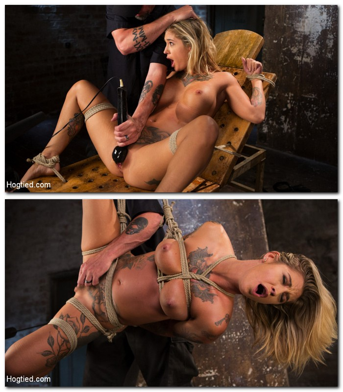 Hogtied/Kink: Kleio Valentien - ALT Tattooed Pain Slut Submits in Grueling Bondage  [HD 720p]  (BDSM)