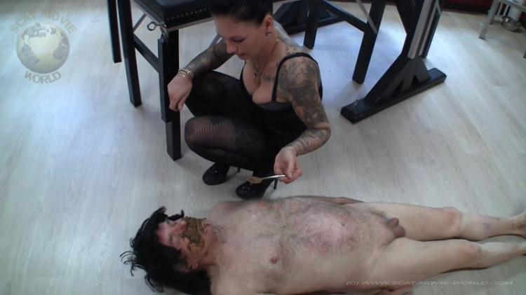 Have fun eating - Femdom Scat / SCAT / 28 Oct 2016 [FullHD]