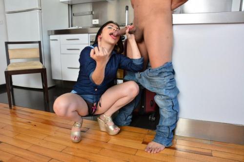 TuVenganza.com [Nicole Medallo - Brunette Latina Gets A Facial After Revenge Blowjob And Fuck] SD, 480p