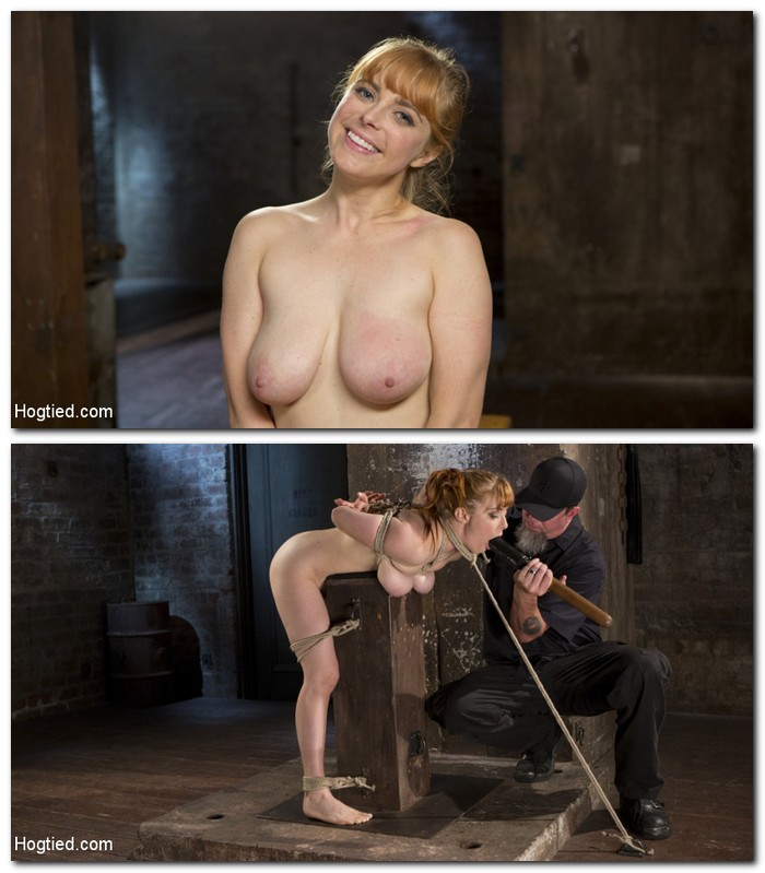 Hogtied/Kink: Penny Pax - Red Headed Rope Slut is Violated and Tormented   [HD 720p]  (BDSM)