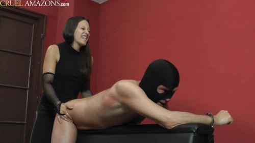 Mistress Sophie - His Ass Is The Target [FullHD, 1080p] [Cru3l4m4z0ns.com/Cruel-Mistresses.com] - Femdom, Strapon