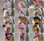 Girl Tight Pants Pooping Part 2 (FullHD 1080p)